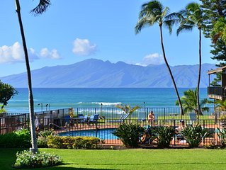 Direct Oceanfront Lahaina/Kaanapali area, 1BD! GORGEOUS!