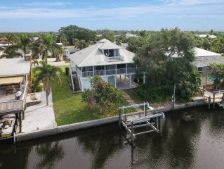 Popular Island Waterfront Vacation Home! Check out Summer Rates!