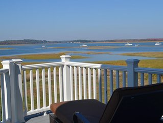 Newly built 5 bedrooms with great water/marsh views