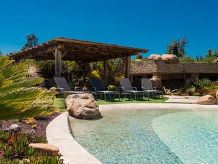 Unique villa sur 127 hectares clos avec loge de gardiens - Bonifacio - Rondinara