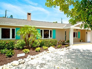 Professionally Decorated 3/2 Pool Beach House is Just Steps to the Beach!