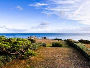 Villa direkt am Meer , privater Zugang zum Strand, mit Spa :  Sauna, Whirlpool