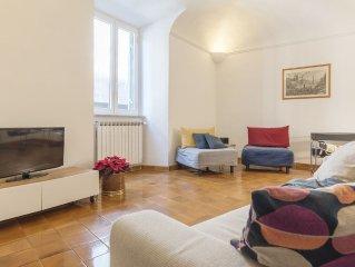Bright apartment  Navona Campo de' Fiori AC + WiFi