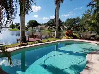 Dream Vacation House In Pembroke Pines with heated pool