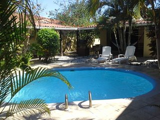 Secure, Private, Tropical Location Within Walking Distance To 3 Beaches