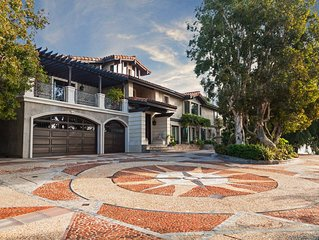 Magnificent Gated Estate, Hollywood Hills, California