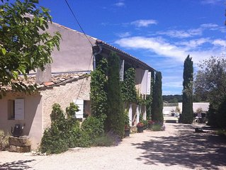 House With Private Pool, Surrounded By Vineyards, 5 Minutes To Village