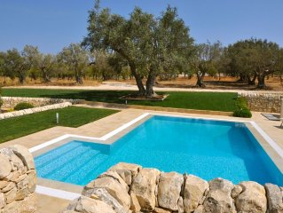 Farmhouse With Swimming Pool In 5 Acres Of Almond Groves. 5 Star Comfort.