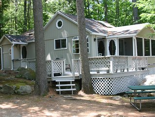 Charming cabin on Lake Winnisquam