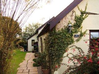 Peaceful Cottage in Rural North Devon, near the Ocean