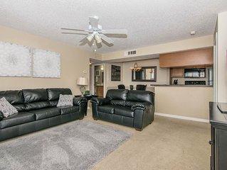 Living Room w/ Flat Screen TV