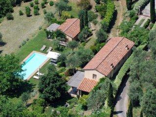 Renoviertes, alleinstehendes Landhaus,180 m2, Pool, Meerblick, umweltfreundlich