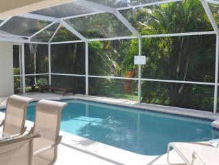 ❤️Amazing Privacy 15 min to Disney! Safe, relaxing pool home great for families!