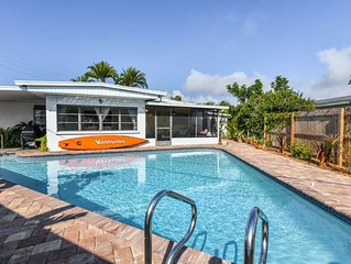Spacious House, sleeps up to 10, Close To USA's Best Beach! Great Rates!