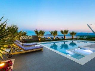 Villa Niolos I - Tranquil hilltop villa, offering spectacular panoramic views