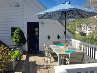 Ptown Charm- Great Light; Private Deck; Steps to Beach; Parking