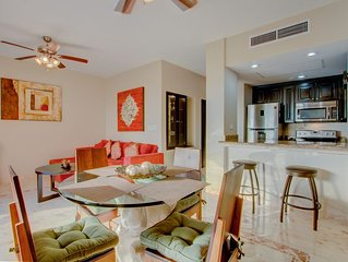 LARGE Playacar beachfront condo sleeping up to 8 guests! NEW LOWER PRICES