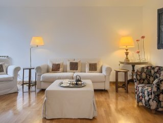 Vatican beautiful sunny quiet Penthouse 5 mins from St Peter & near metro