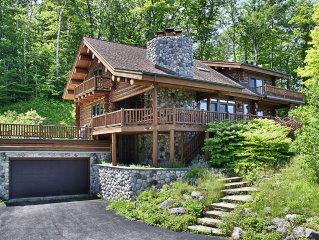 Viewtopia-Leland- Gorgeous log home-Stunning view property