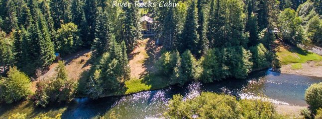 Rivière Rocks Cabin - Rocks rivière Chalet sur la partie supérieure du fleuve Yakima!