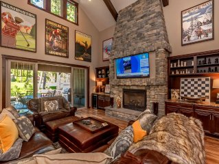 SWANKY SUNCADIA ESTATE! Sleeps 20 | Game Room | Hot Tub | On the Course!!