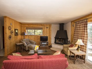 Goetzl: 3 BR / 2 BA house/cabin in Tahoma, Sleeps 8