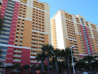 Amazing Location 20th Floor Condo Just Steps from Pier Park at Calypso Towers!