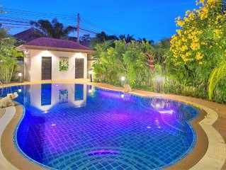 4 Bed Luxury Villa with Private Pool near Beaches in Pattaya
