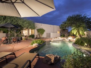 *SANITIZED* Hidden Oasis Intimate  3 BR Home/ PVT Pool/ Jacuzzi/ Fire Pit/ Glend