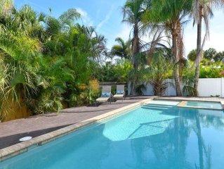 private pool/spa beach gear