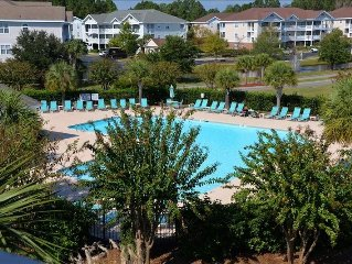 2BR/2BA Golf Villa, 614IW, Barefoot Resort, North Myrtle Beach