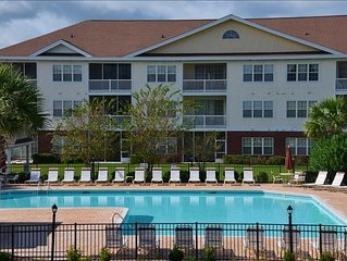 Waterway view 2BR/2BA Luxury Villa in 1134 The Havens on Barefoot Resort and Go