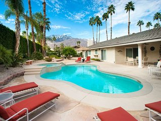 BEAUTIFUL PRIVATE OASIS - THE PERFECT PALM SPRINGS HIDE-AWAY