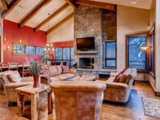 Lewis Ranch Lodge: True Ski-in/Out, Hot Tub, Theater, Shuttle