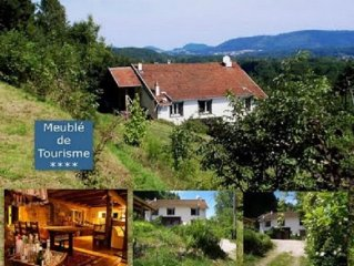 AuxBaumes-Holiday house.,Vosgian Farmhouse totally renovated