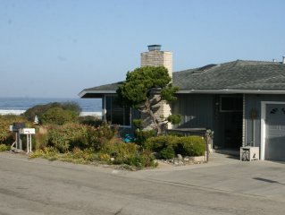 Beach Tract Ocean Home with Spectacular Views - You Will Love This House!!