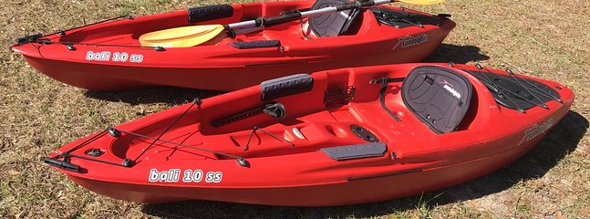Two 10ft Kayaks available