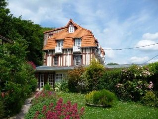 Appartement dans une residence anglo-normande