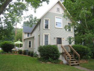 In-town Suttons Bay, Walk to Town, Near Beach, On the Wine Trail, Sleeps 8-10