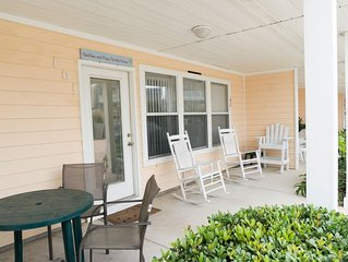 Family Friendly Condo Steps From the Beach!