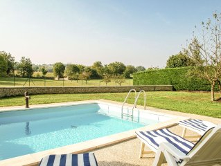 Holiday home near Cressensac, with private swimming pool and garden with playgr