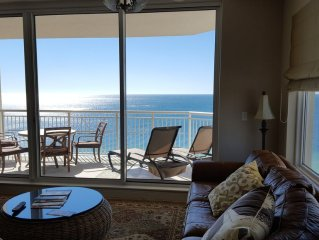 Indigo Gulf Front 14 FL CORNER, 3BR/4BA + 2312 Sq Ft -  just updated - Gorgeous