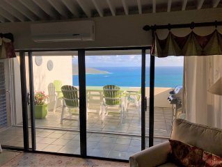 Comfortable 2 Bedroom Condo with Beautiful Panoramic Down Island Views