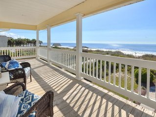 Ocean Front - Beautiful beach and views, newly refinished