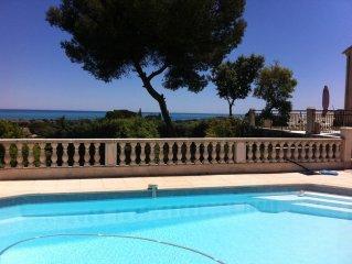 Magnifique villa vue mer panoramique
