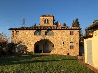 La Loggia - Caratteristico appartamento in casa colonica toscana