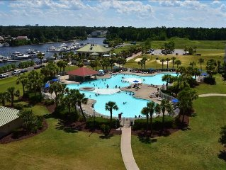 2BR/2BA Bungalow, 2208TR, Barefoot Resort, North Myrtle Beach