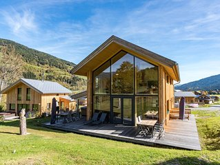 Detached, luxury chalet with panoramic view, wellness area, and jacuzzi , near