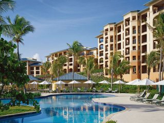Beachfront Ritz Carlton Club, St. Thomas- stunning 3 bedroom villa