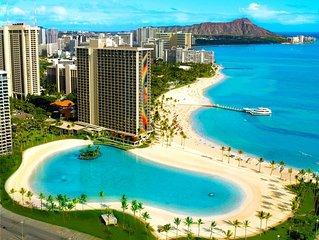 Hawaiian Village Kalia Tower: Fabulous beach and lagoon!
